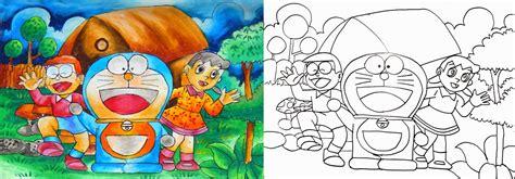 tutorial menggambar yang bagus belajar menggambar belajar tehnik crayon