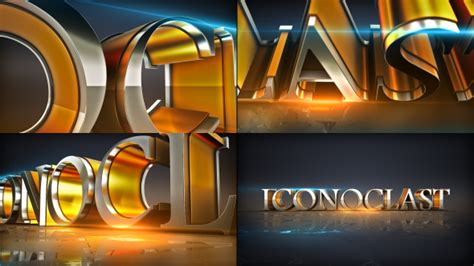 Plus Element 3d Logo Opener 3d Object Envato Videohive After Effects Templates 3d After Effects Templates