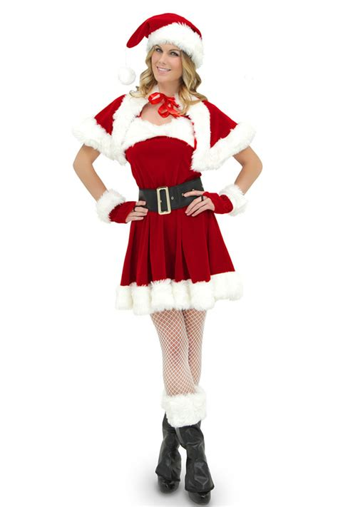 40 46 sexy wraped belted christmas costume for sale