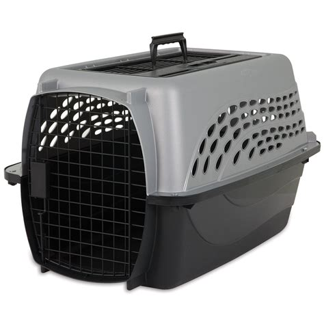 petmate crate petmate 2 door top load kennel petco