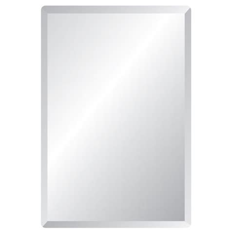 30 x 40 bathroom mirror spancraft regency 30 x 40 rectangular beveled edge mirror