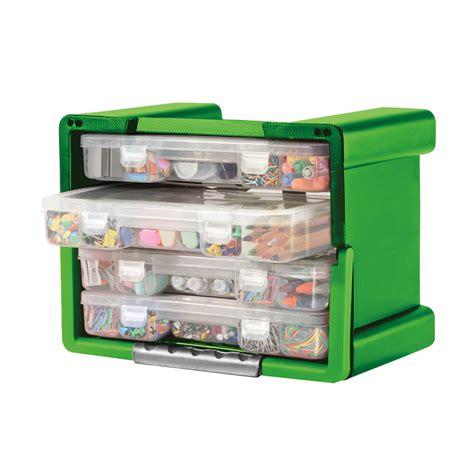 Customizable Drawer Organizer by Keter 4 Drawer Organizer Portable Handled Plastic