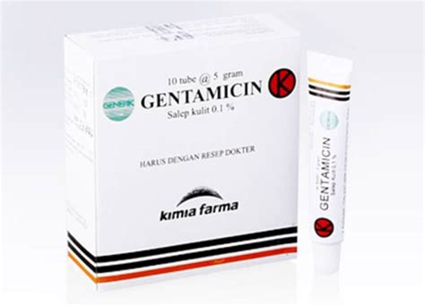 Obat Gentamicin salep gentamicin kegunaan dosis efek sing mediskus