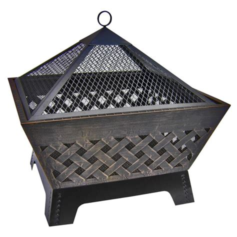 Landmann Patio Heater Landmann 26 Quot Barrone Pit With Cover 588495 Pits Patio Heaters At Sportsman S Guide