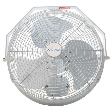 indoor outdoor oscillating fan durafan 14 quot indoor outdoor non oscillating wall mount fan