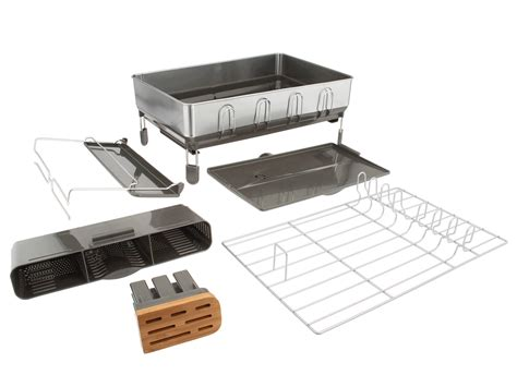 Modern Dish Rack Stainless Steel by Kitchen Aid Dish Rack Inspiration Ideas Stainless