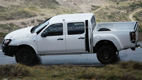 Next Ford Ranger by 2012 Next Ford Ranger Cab Spied In The Alps