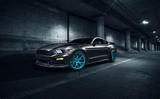 Ford Mustang Wallpaper Roush Performance Mustang Vossen Wheels Wallpapers Hd