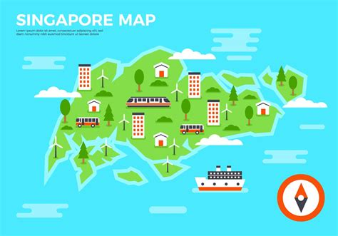 3d layout artist jobs singapore free flat singapore map vector download free vector art