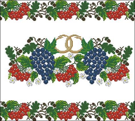 Схемы вышивки цветов риолис