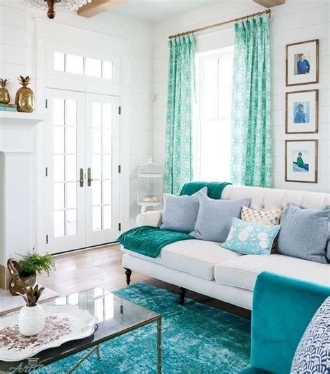 bold   color teal home designed