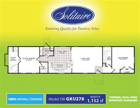 solitaire manufactured homes floor plans solitaire homes floor plans 28 images solitaire homes