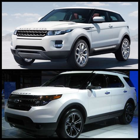 ford range rover ford explorer vs range rover hmmmm cars