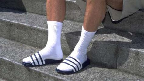 adidas sandals with socks landofcandycanes you you are german when