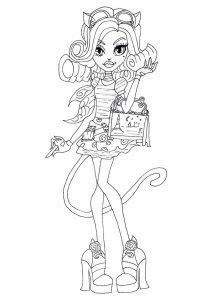 Monster High para Colorir | Como Desenhar Bem Feito