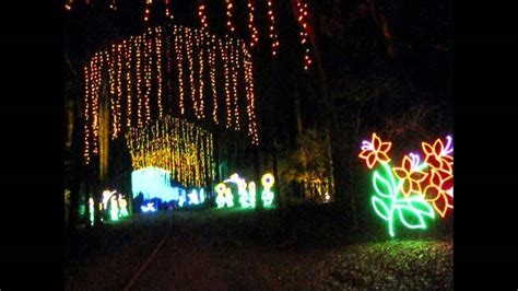 christmas fantasy in lights callaway gardens ga the