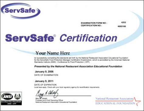 servsafe certificate template boston inspector resigns in food safety barfblog