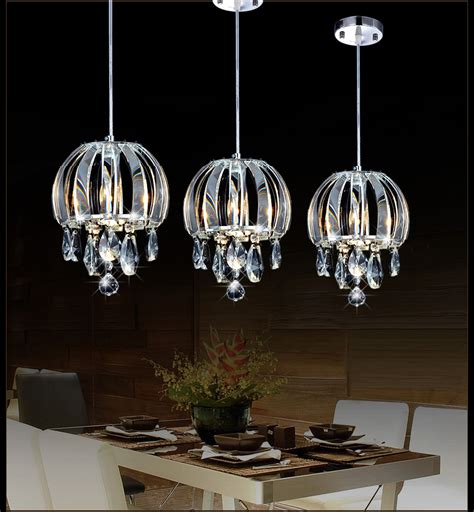 Kitchen Island Pendant Lighting Fixtures by Modern Pendant Lamp Crystal Kitchen Pendant Lighting