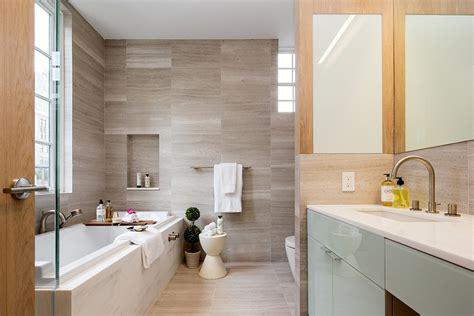 Modern Bathroom New York Exclusive New York City Penthouse Blends Tribeca Style