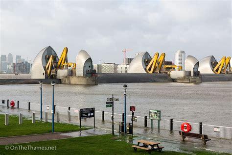Thames Barrier Closures 2018 | storm eleanor forces thames barrier closure on the thames