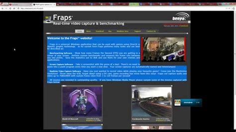 fraps full version cracked 2014 fraps 3 5 99 full cracked feb 2014 working youtube