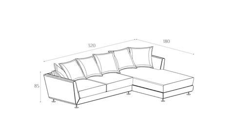 medidas de sofas de 3 plazas sof 225 chaise longue 3 plazas dondon en 193 mbar muebles