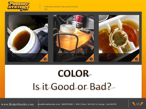 what color should brake fluid be brake fluid when should it be changed