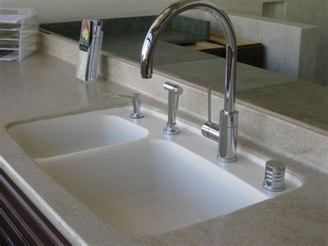 Corian Integral Sink corian 174 tumbleweed with 872 bisque integral sink in showroom sullivan counter tops inc