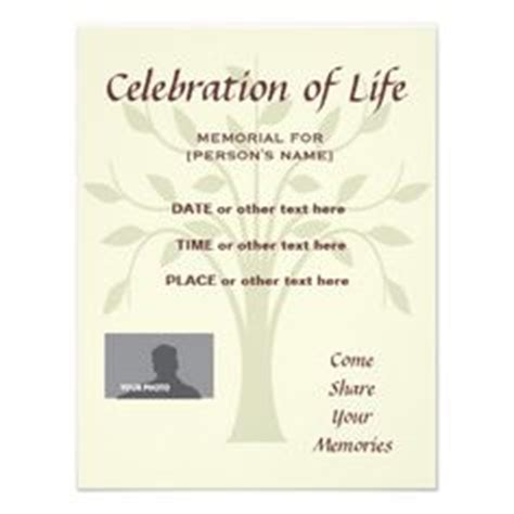 Memorial Service Invitation Letter Memorial Announcement From Http Www Zazzle Funeral Invitations Products I
