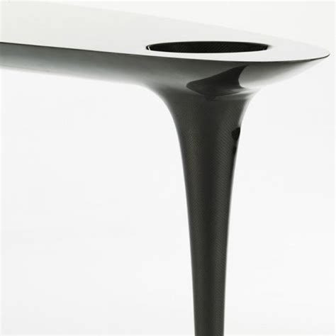 marc newson 300 000 carbon fiber black table