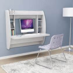 Floating Wall Desk White Floating Desk With Storage