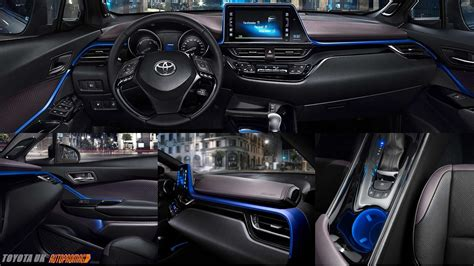 blue interior toyta chr blue interior release date cars