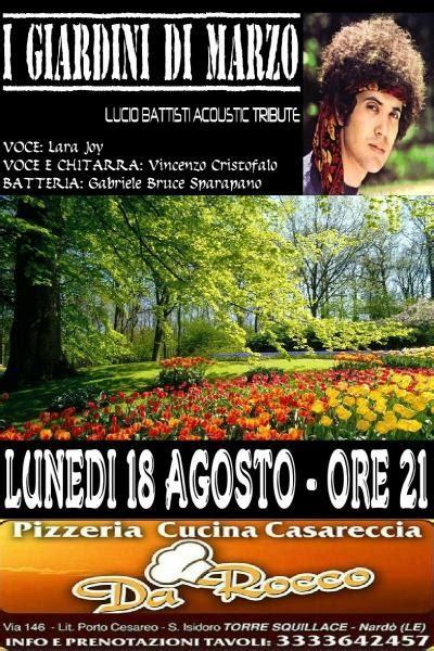 lucio battisti giardini di marzo i giardini di marzo tributo lucio battisti live nard 242