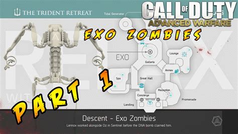 exo zombies descent map call of duty advanced warfare exo zombies descent