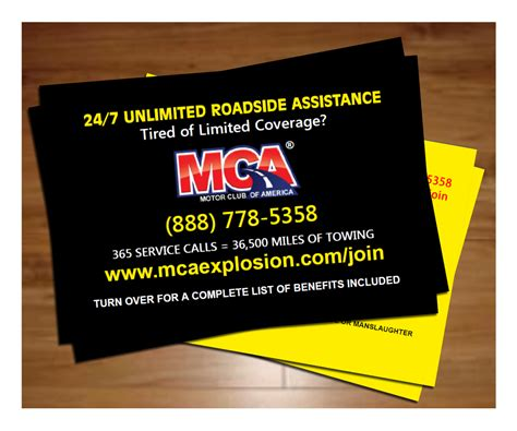 mca business card template mca flyers related keywords mca flyers