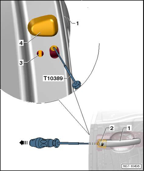 Remove Exterior Door Handle Volkswagen Workshop Manuals Gt Up Gt Gt General Repairs Exterior Gt Front Door Central
