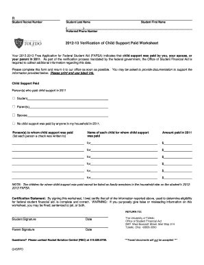 printable version of fafsa application fillable virginia child support worksheet fill online