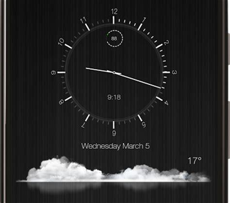 clock template zooper zooper classy clock and weatherzooper classy clock and