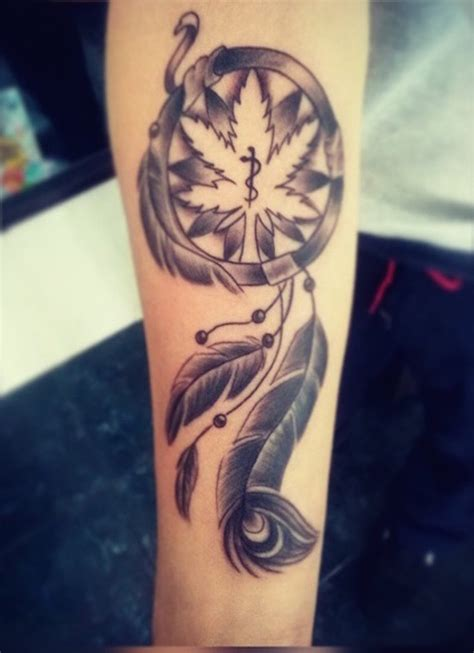 dreamcatcher forearm tattoo forearm catcher yeahtattoos