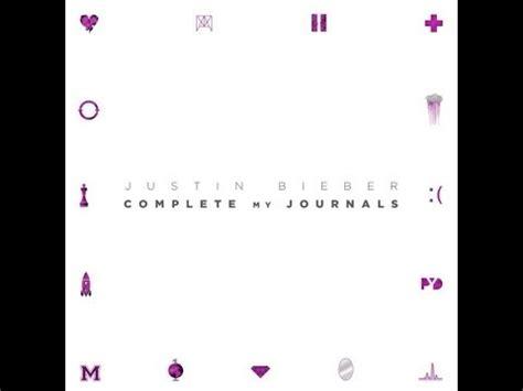 justin bieber novo album journals justin bieber journals 12 23 13 full album youtube