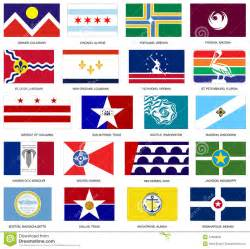 us city flags vector royalty free stock photo image
