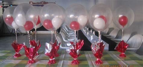 centros de mesa para 15 aos con globos centros de mesa con globos bautismo 15 a 241 os cumplea 241 os