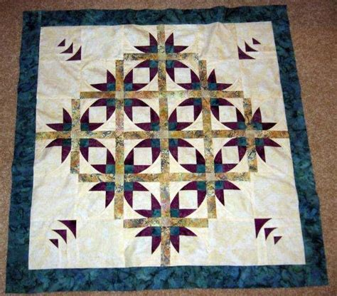 Quilt Pattern Mexican Star | mexican star quilt quilts pinterest