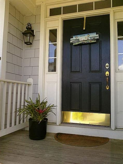 What Color To Paint A Front Door Bloombety Best Front Door Black Paint Colors Front Door Paint Colors Decorating Ideas