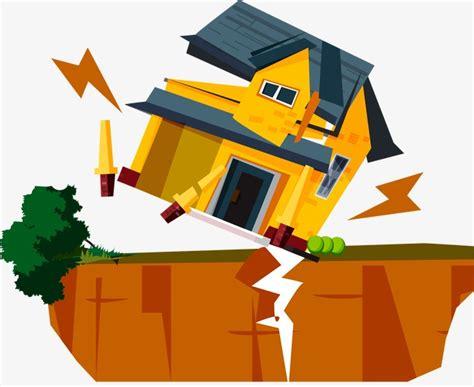 earthquake clipart earthquake building collapse earthquake houses collapse