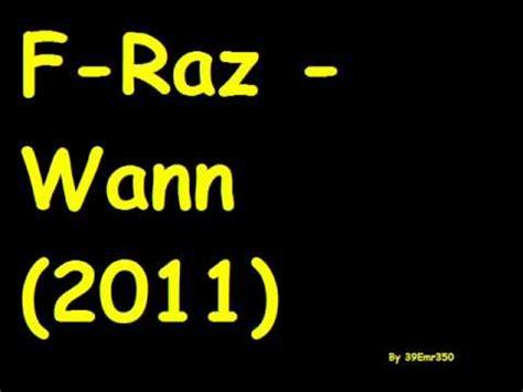 wann säen f raz wann 2011