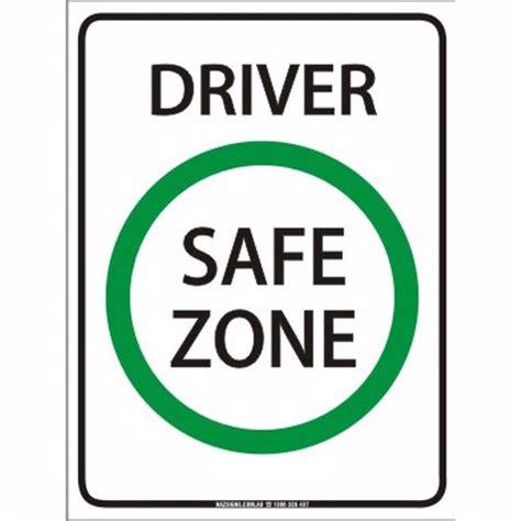 drive zone hazsigns