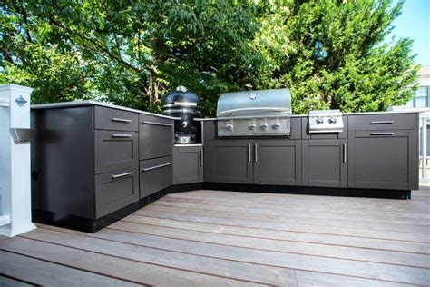 outdoor kitchen cabinets are outdoor stainless steel cabinets a good long term