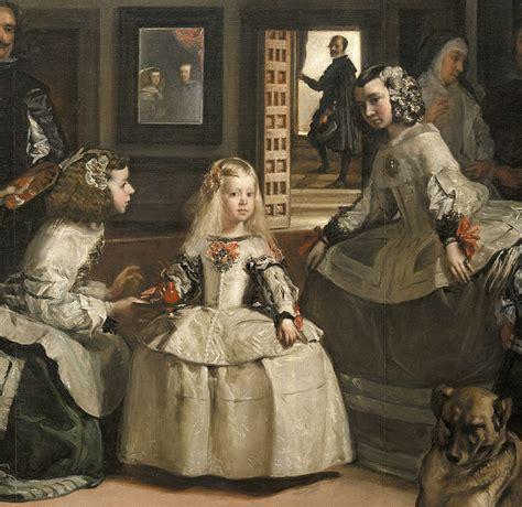 velazquez las meninas 4 fold diego vel 225 zquez las meninas o la familia de felipe iv detalle 1656 museo del prado madrid