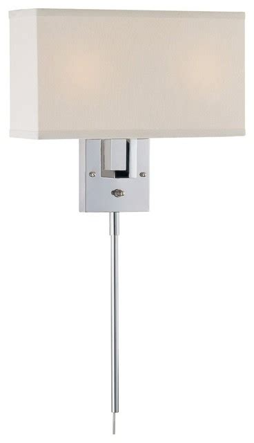 ls plus outdoor sconces lite source rimini white and chrome in wall l